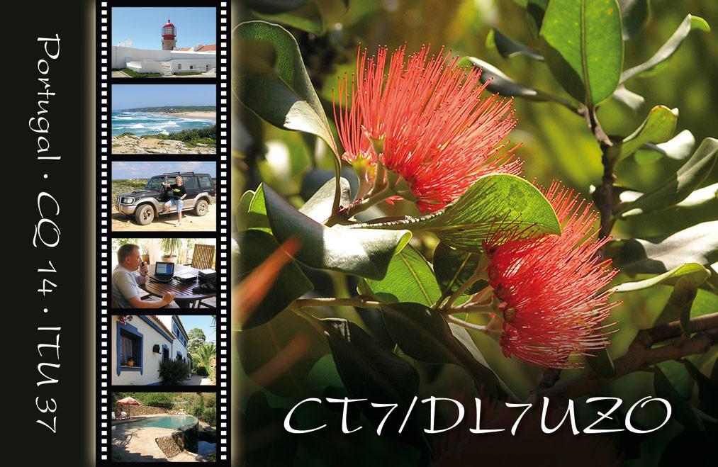 QSL-Karte CT7/DL7UZO 2011